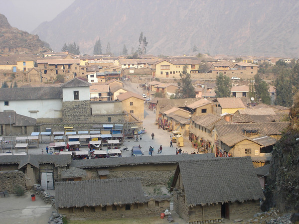 Living Inca City of Ollantaytambo