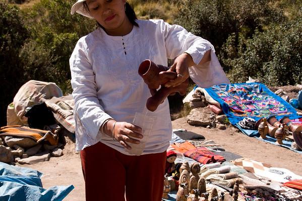 Incan God of Fertility; souvenir
