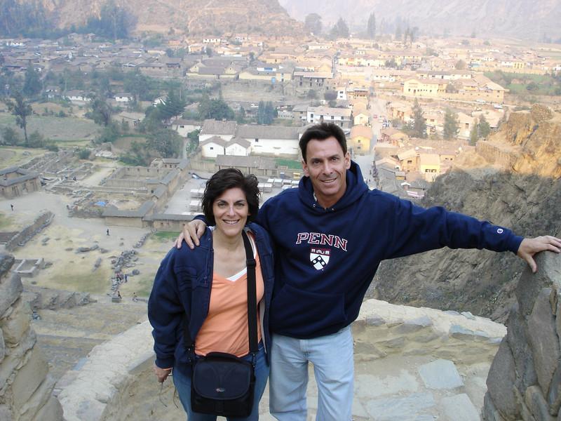 Cyndie & Richard at Ollantaytambo