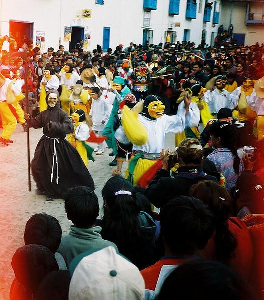Paucartambo dancers