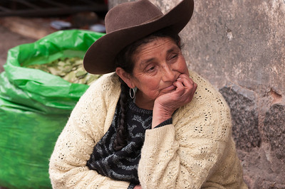 Selling coca leaves