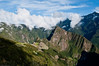First view of Machu Picchu from Intipunku (Gateway of the Sun)