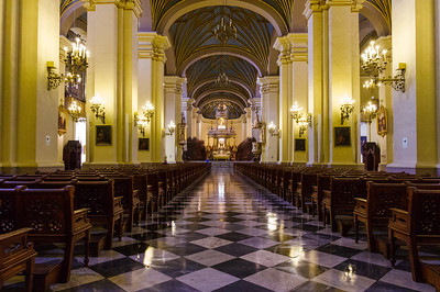 The Basilica Cathedral of Lima