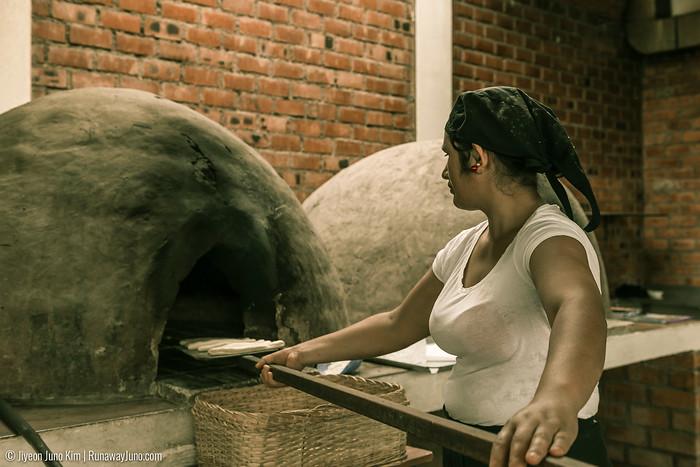 Artesian baking at Mirasur, Lima, Peru