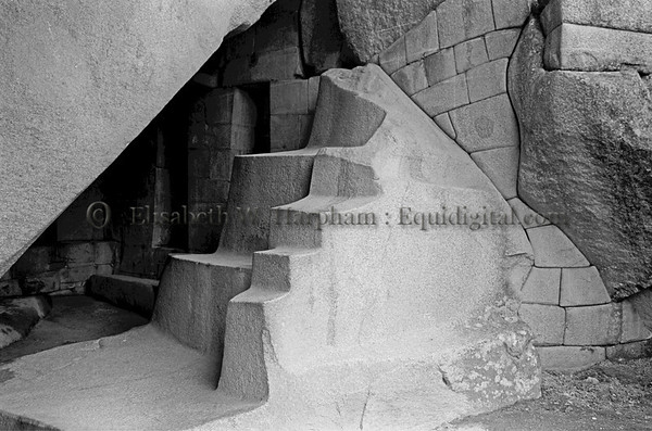 The Royal Mausoleum, Macchu Picchu, Peru