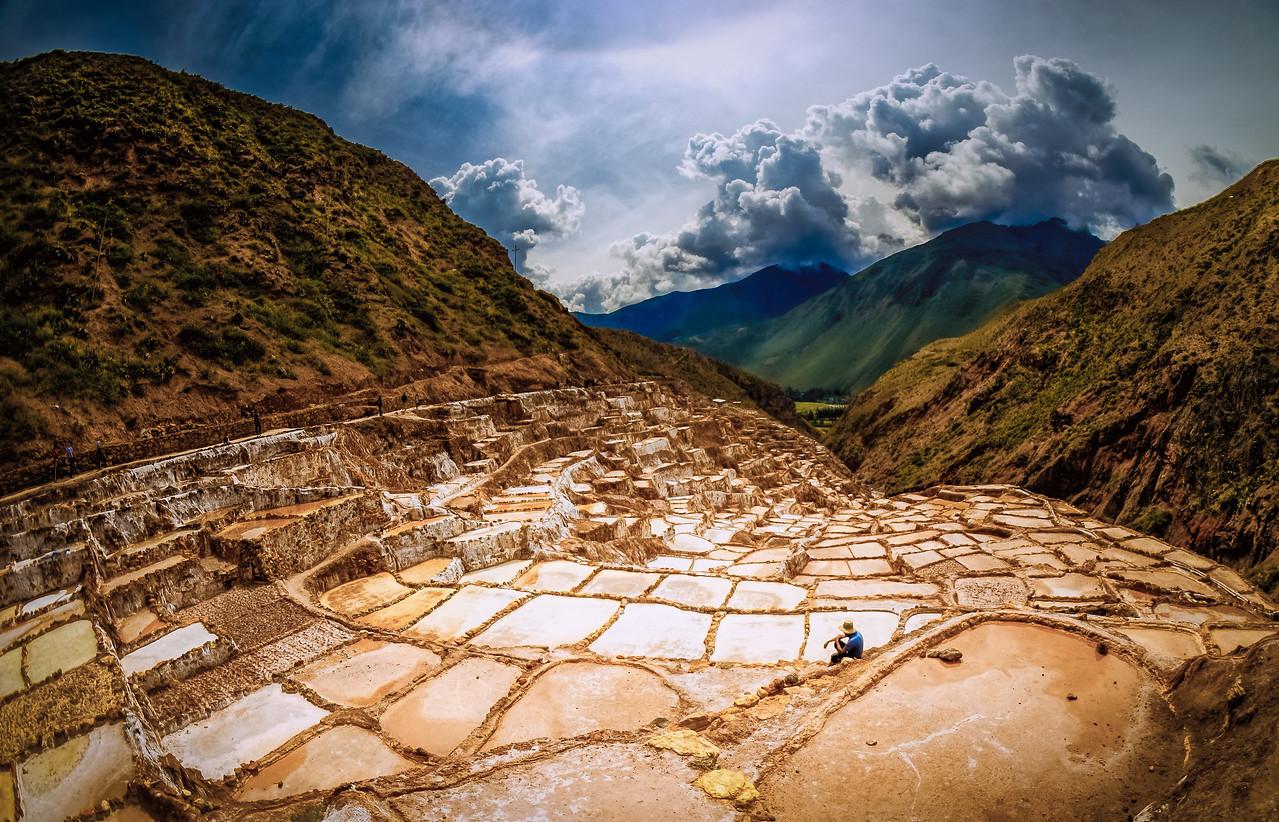 Salt Pools of Maras