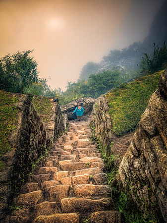 Inca Stairs to the Top