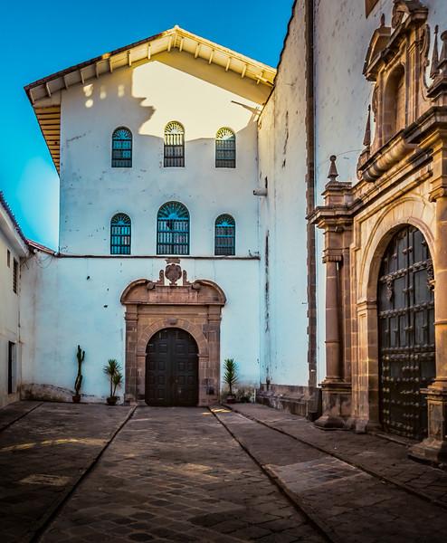 Alley in Cusco