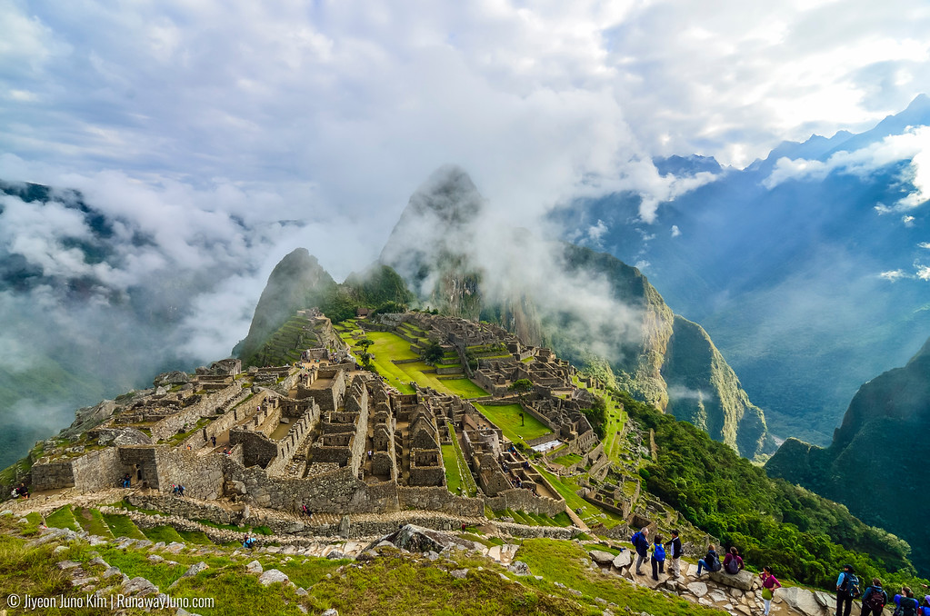 Machu Picchu, under the morning sun