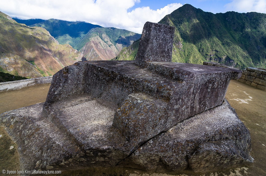 Inti Watana, the sundial is believed to have been designed as an astronomic clock or calendar by the Incas