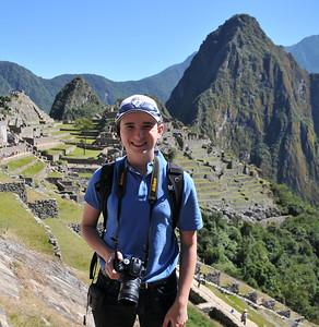 Larry in Machu Picchu