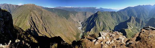 Panorama View from Machu Picchu