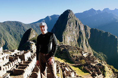 Zevy at Machu Picchu Village
