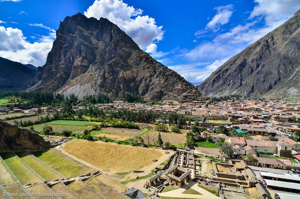 Ollantaytambo Inca archaeological site