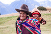Peru 4095<br /> Mother and baby on their way to town.