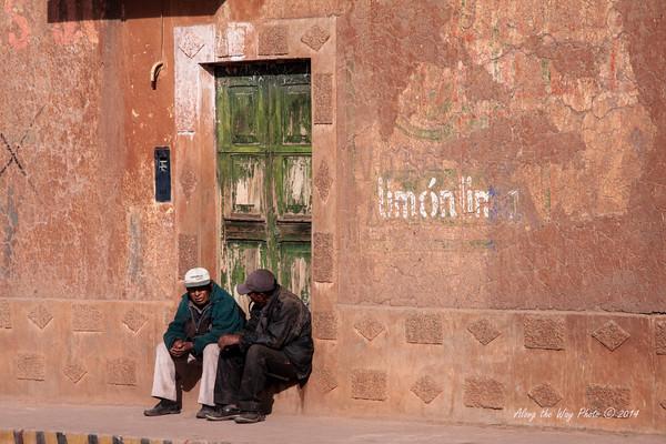 Peru 5269<br /> Sitting on the step.