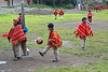 Willoc School 4572<br /> Group of kids playing during lunch at a school in a small village in Peru.
