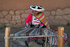 Pisac 3721<br /> Lady weving at a weaving cooperative at Awana Kancha on the way to Pisac.