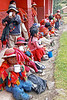 Willoc School 4705<br /> The kids would sit ouside next to the school and eat/drink their lunch