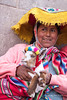 Cusco 3301<br /> Lady posing for pictures in Cusco.