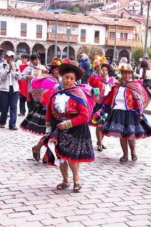 Cusco 5104<br /> Parade in Cusco.