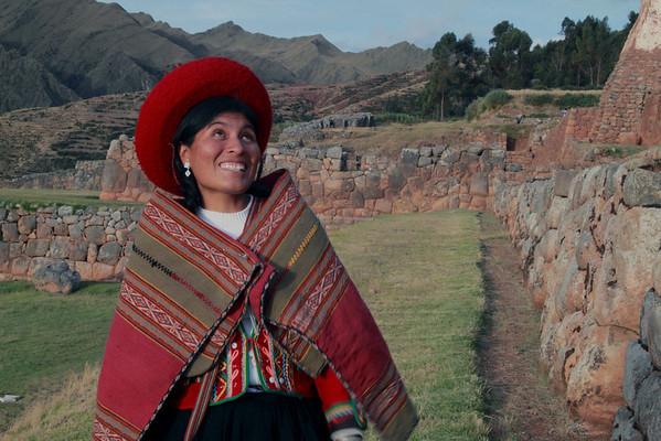 Chinchero 4156<br /> Chinchero Inca ruins.