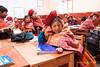 Willoc School 4594<br /> Students in class room in the small school in  Willoc.