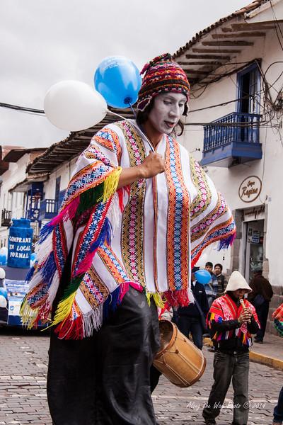 Cusco 5112<br /> Parade in Cusco.