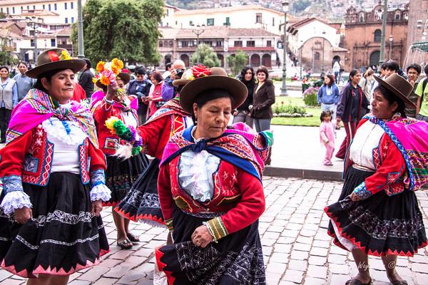 Cusco 5106<br /> Parade in Cusco.