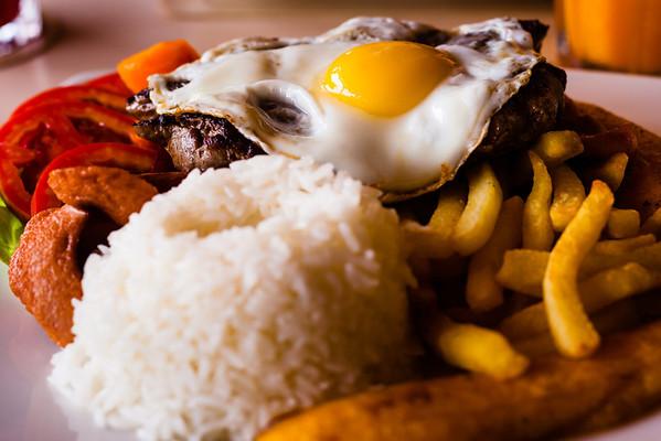 Cafe Haiti Lomo Saltado. Lima.