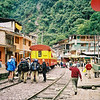 Aguas Calientes, jumping off place for Machu Picchu.  Also the end of the RR line.