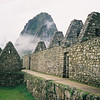 Wayna Picchu overlooking the ruins of Machu Picchu