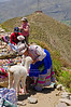 Peruvian Street Vendors at Colca Canyon