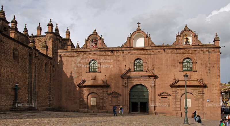 Church of the Triumph (Iglesia de Nuestra Señora del Triunfo) adjacent to the Cathedral of Santo Domingo, Cuzco, Peru