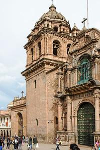 Curch and Monastery La Merced in Cusco