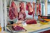 Butchery at the Mercado Municipal in Miraflores