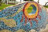 Mosaic at the Love Park (El Parque del Amor) in Miraflores, Lima, Peru