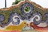 Mosaic at the Lovers Park (El Parque del Amor) in Miraflores, Lima, Peru