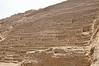 Another view at the Adobe Pyramid of Huaca Pucllana, Miraflores, Lima, Peru