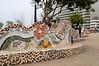 Love Park (El Parque del Amor) in Miraflores, Lima, Peru