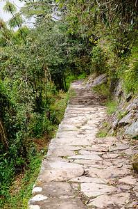 Inca Trail near the Sun Gate