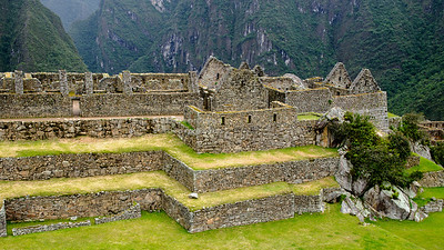 The 'industrial zone' at Machu Picchu