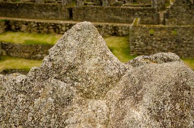 Sacred Rock at Machu Picchu