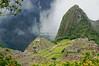 The Inca village of Machu Picchu