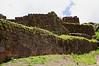Inca ruins at Pisac Peru