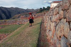 Chinchero 4151;<br /> The inca walls over by Chinchero.