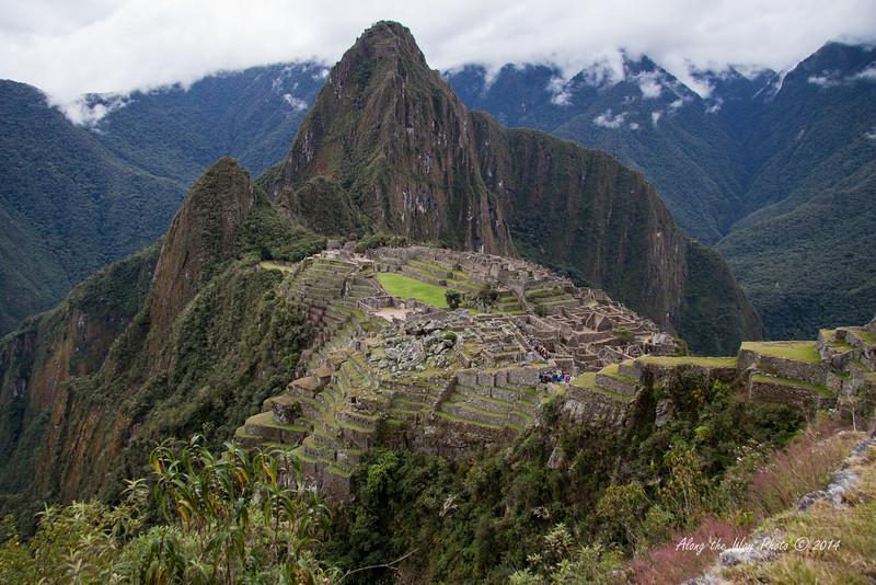 Machu Picchu 4848<br /> Machu Picchu with Huayna Picchu in the background.