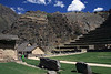 Ollantaytambo 4388<br /> Top left are some storehouses and graineries used by the Incas.