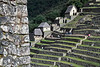 Guard Houses 4923<br /> Guard Houses behind the farming terraces at Machu Picchu.