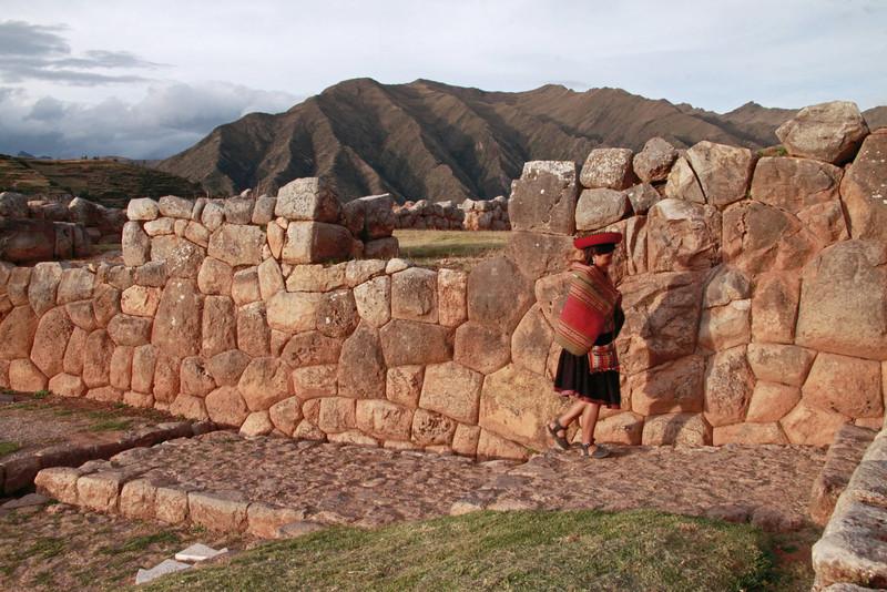 Chinchero 4160<br /> Inca Ruins in Chinchero.